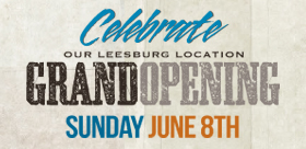 Leesburg Grand Opening Celebration